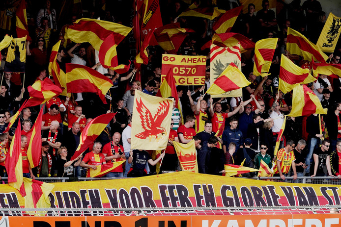 Fans van Go Ahead Eagles