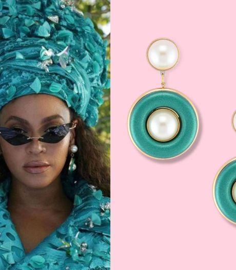 Ces boucles d'oreille portées par Beyoncé sont la création d'une marque belge