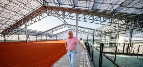 In dit nieuwe complex in Etten-Leur tennis je straks misschien wel naast Kiki Bertens
