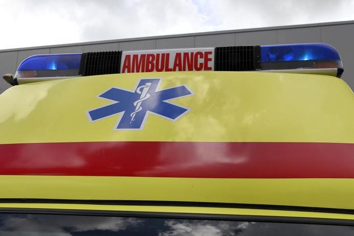 Ambulance. foto Sacha Wunderink