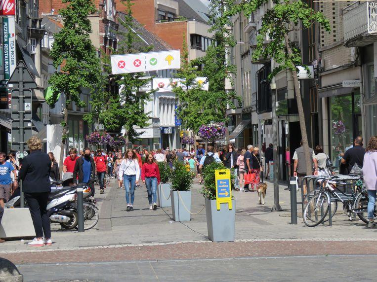 Maar steeds meer shoppers vonden hun weg naar de Ooststraat.