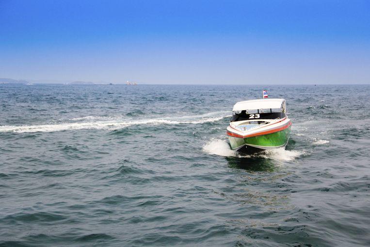 Speedboot (ter illustratie) Beeld thinkstock