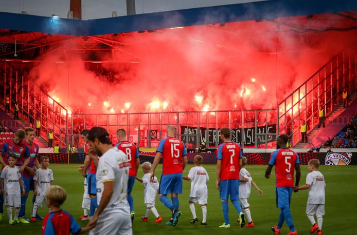 De supporters van Royal Antwerp waren vorige week massaal afgereisd naar het Tsjechische Viktoria Plzen.