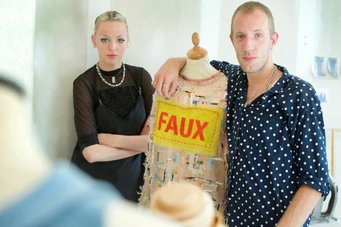 Tessa de Boer en Joris Suk willen doorbreken in Parijs.