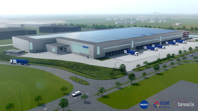 Het nieuwe distributiecentrum van Wasco in Apeldoorn is drie jaar na de oplevering door groeiende bedrijfsactiviteiten al weer te klein. Het wordt daarom met bijna de helft uitgebreid.