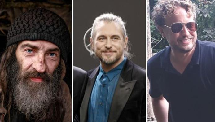 Dakloze Rigo, Take That-veteraan Mark Owen, en rechts de columnist-met-beetje-baard: de baardige bakkes is wijverbreid.