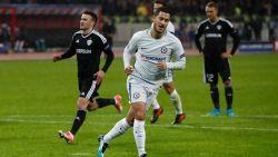 Hazard loodst Chelsea met goal en deze héérlijke assist naar knock-outfase Champions League