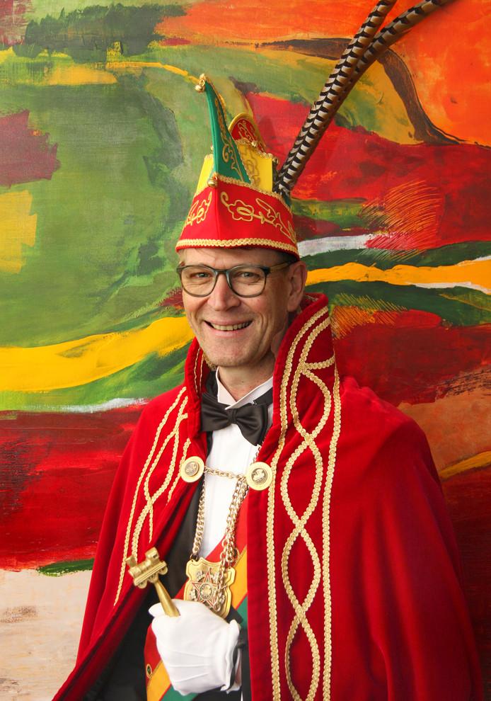 Prins Kaaff van Boemeldonck is vrijdagavond onthaald.