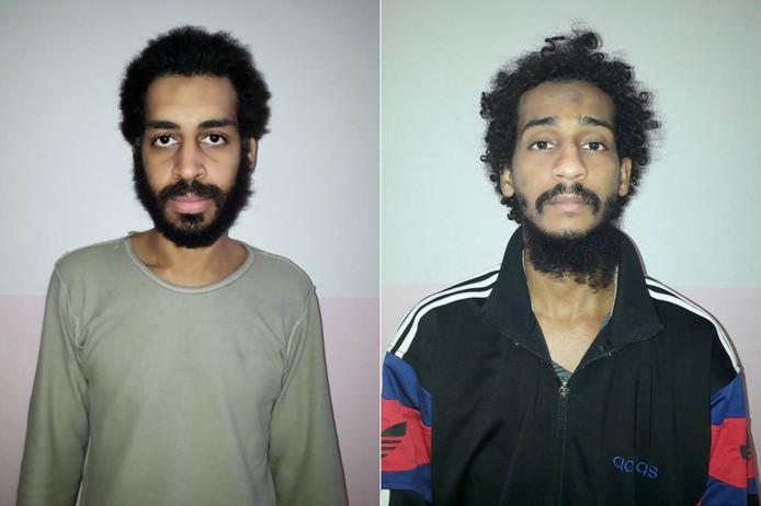 Alex Kotey (links) en Shaffee El-Sheikh.