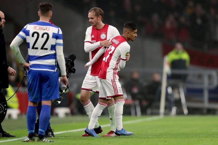 Ünüvar verving De Jong.