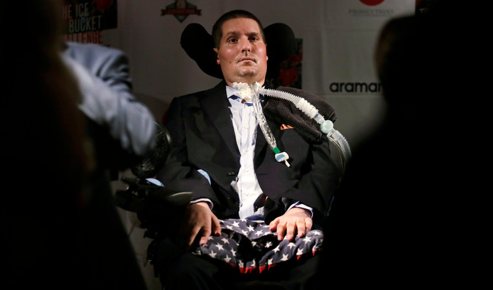 Pete Frates in 2017.