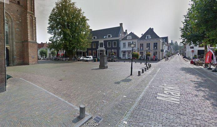 De Markt in Wijk bij Duurstede.