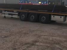 Metaalboeren waarschuwen voor gestolen staalplaten 'inclusief trailer' in regio Zwolle