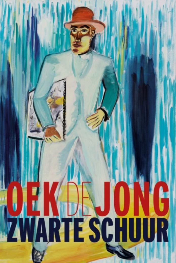 Omslag van 'Zwarte schuur' van Oek de Jong.