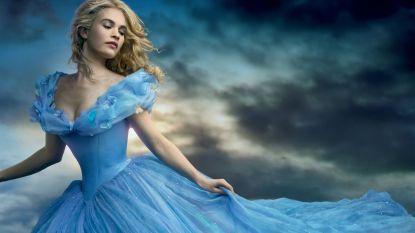 Daarom had Lily James het moeilijk met een bepaalde scène uit 'Cinderella'