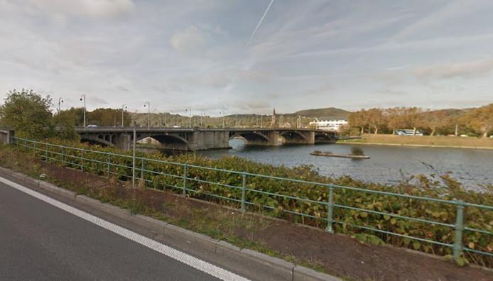 Le corps a été repéré à hauteur du pont Atlas, à Liège.