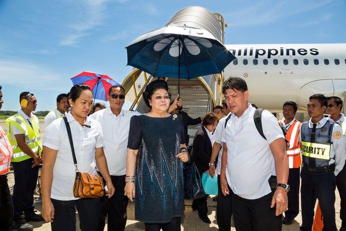Voormalig first lady van de Filipijnen Imelda Marcos in de documentaire The Kingmaker