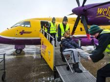 Gipsvlucht met zeven gewonden geland in Rotterdam