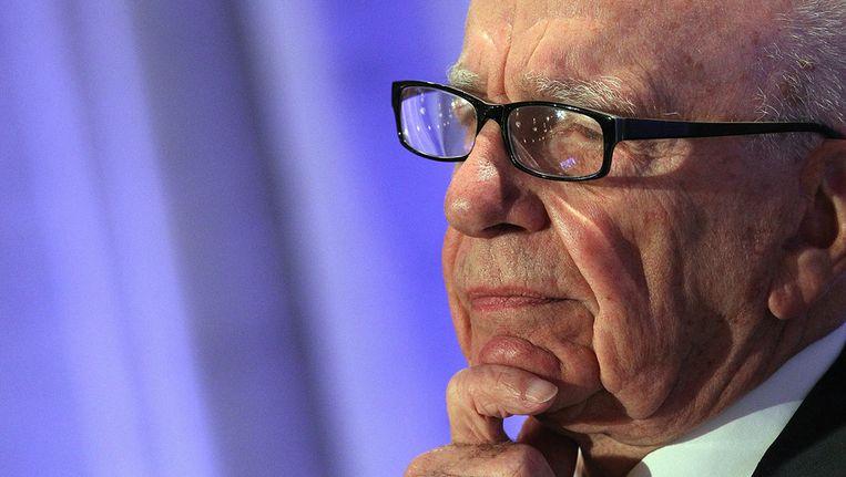 In het winstcijfer zit volgens News Corp onder meer een last van 91 miljoen dollar vanwege herstructureringen. News Corp kwam eerder dit jaar in diskrediet door een afluisterschandaal. © AFP Beeld