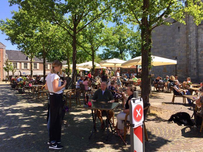 De binnenstad van Ootmarsum