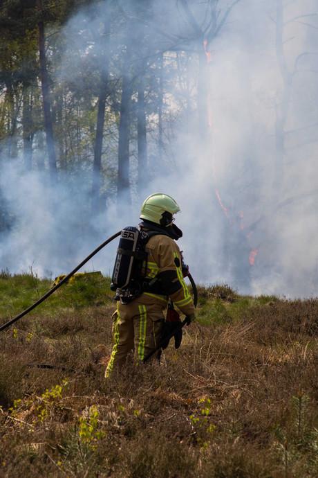 Politie start onderzoek naar vier branden in natuurgebieden