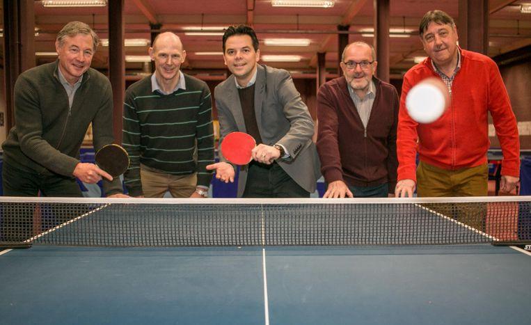 De Sint-Niklase Tafeltennisclub kan met nieuw sanitair én een nieuw huurcontract de toekomst met een gerust gemoed in.