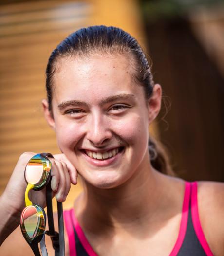 Zwemtalent uit Veghel: 'Ik kan pieken op het juiste moment'