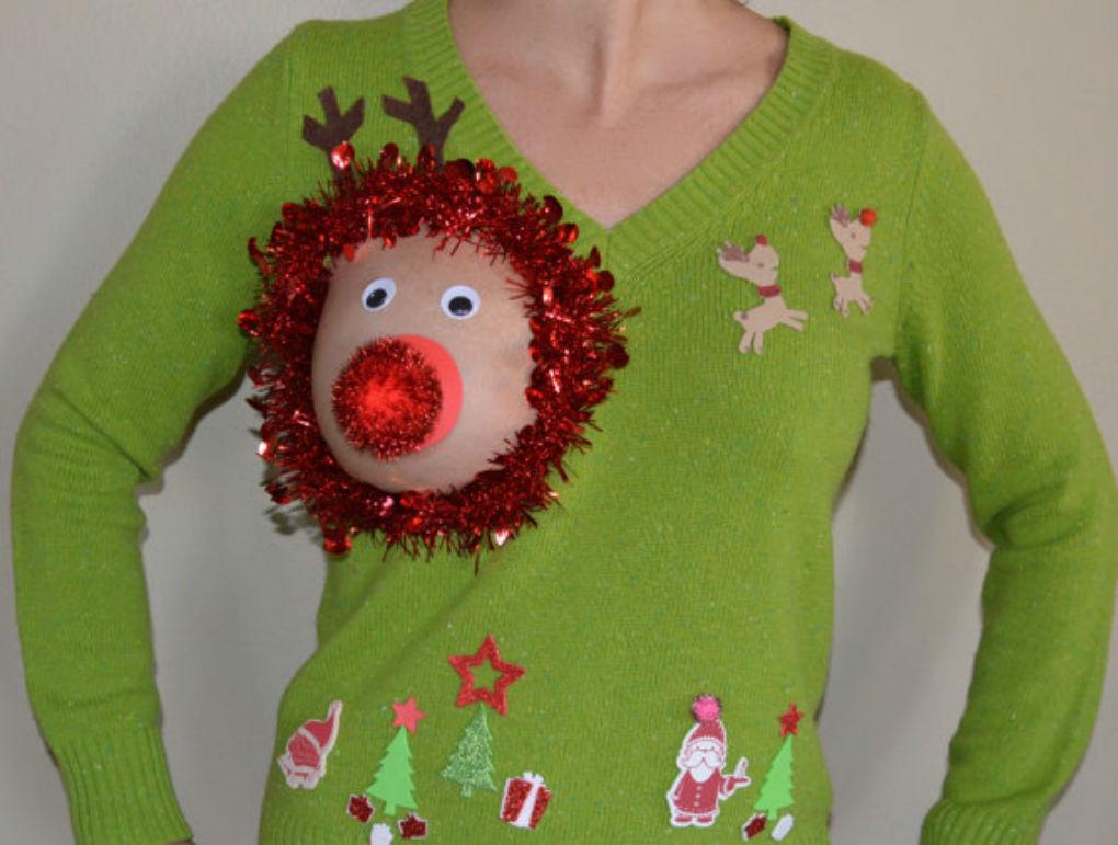 Kersttrui Hert.Luchtige Kersttrui Zorgt Voor Rode Oortjes Bizar Ad Nl