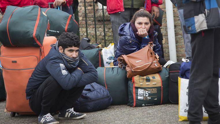 Steeds meer asielzoekers raken ontmoedigd door de Nederlandse asielprocedure. Beeld anp