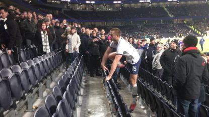 Vier wedstrijden schorsing voor Tottenham-speler Dier nadat die in tribune was geklauterd om broer bij te staan in opstootje