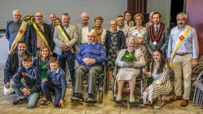 Het huwelijksbootje van Marcel en Bertje vaart al 65 jaar