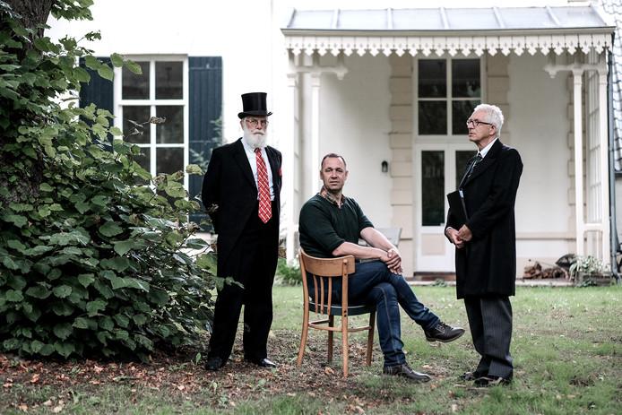 V.l.n.r.: Tonnie Oosterhoff, Jos Spijkers en Gerard van der Kamp.