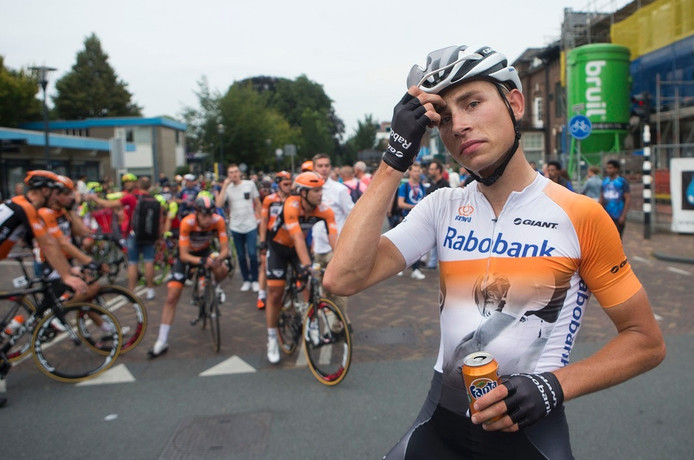 Martijn Budding na finish Arnhem-Veenendaal Classic