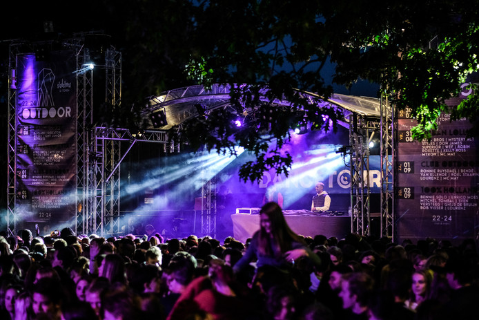 De Dancetour wordt tijdens het Stadsfeest sinds 2018 bij de D-Toren gehouden. Archieffoto: Jan van den Brink