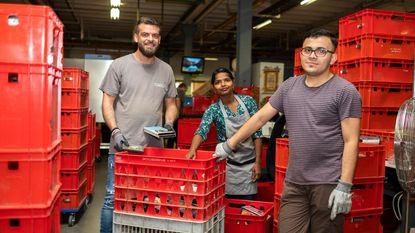 Ziad, Mohamad en Tharsini zoeken vast werk