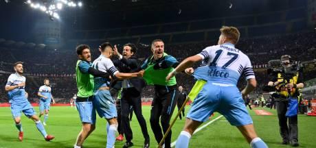 Lazio verrast Milan in eigen huis en is bekerfinalist