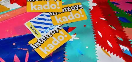 Op Intertoys-cadeaukaarten staat nog 1 miljoen euro uit