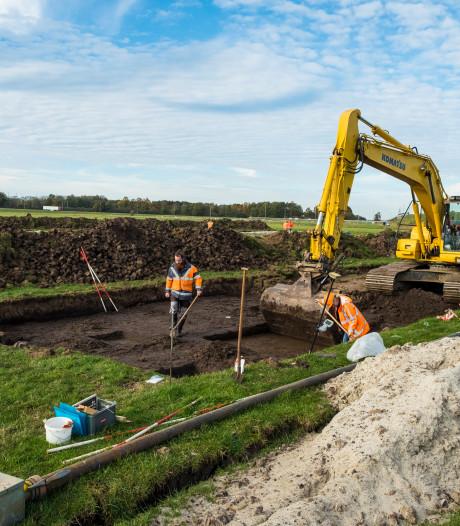 Archeologen hopen op jackpot op Hattems bedrijventerrein