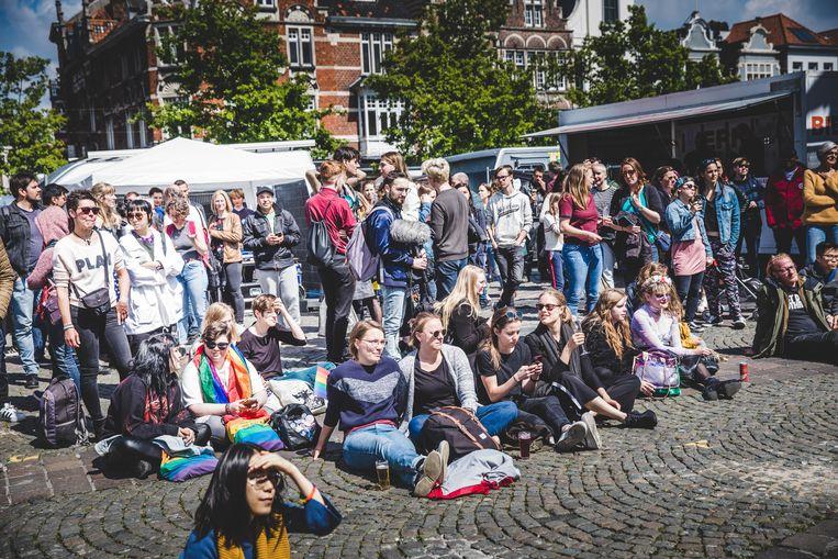 Queer pride op Vrijdagmarkt