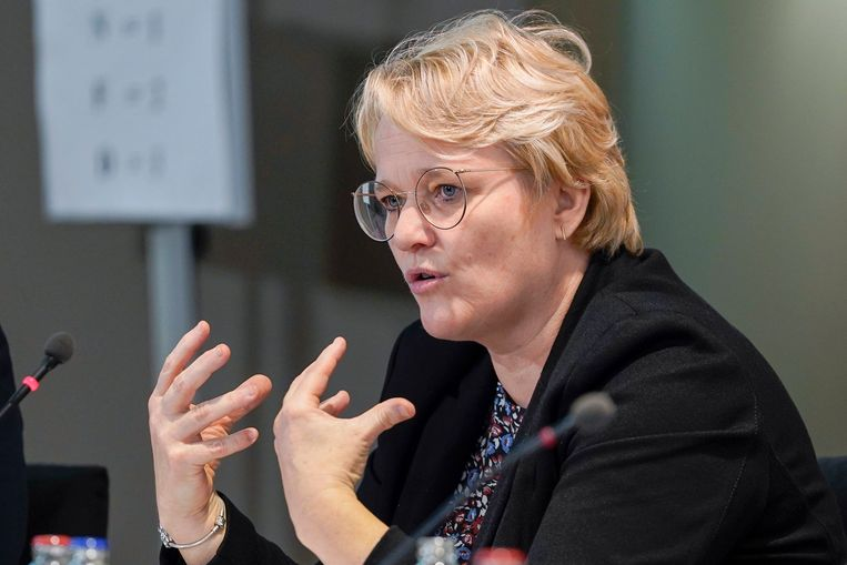 Minister van Werk Nathalie Muylle.