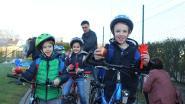 VIDEO: applaus voor de Zonhovense fietsers
