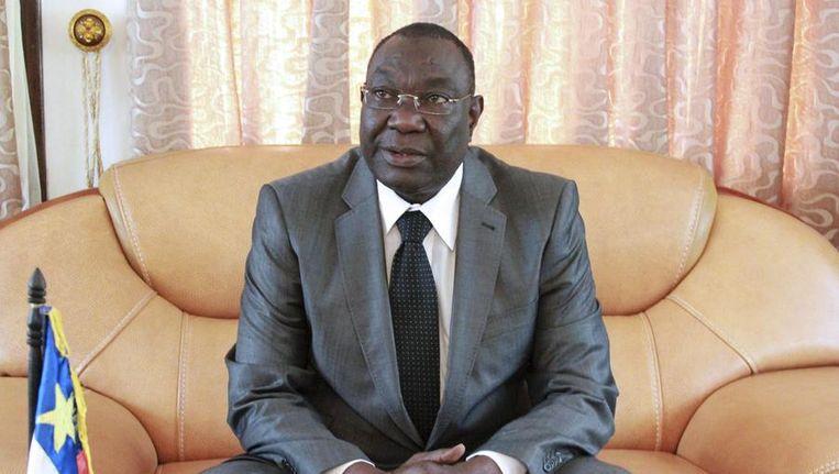 Interim-president Michel Djotodia van de Centraal-Afrikaanse Republiek. Beeld reuters