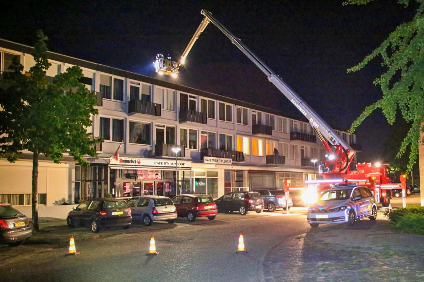 Verdachte situatie aan Nassauplein in Bladel.