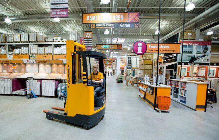 Filiaal van bouwmarkt Hornbach in Nieuwerkerk aan den IJssel. Beeld ANP