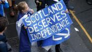 """Tienduizenden op de been in Schotse hoofdstad Edinburgh: """"De onafhankelijkheid komt eraan"""""""