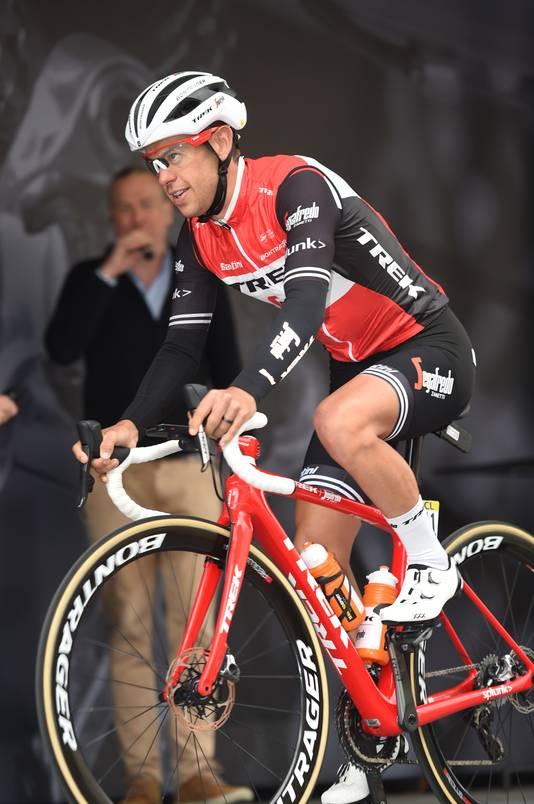 Richie Porte de kopman van Trek-Segafredo.