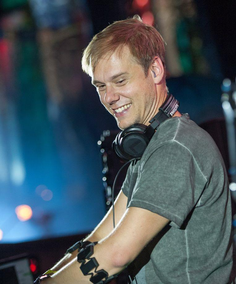 Armin van Buuren - 'Weet je, eigenlijk zie ik hem gewoon als mijn jonge broertje' Beeld HH