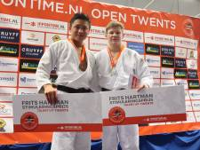 Twentse judoka's houden zicht op Europese droom bij toernooi in Enschede