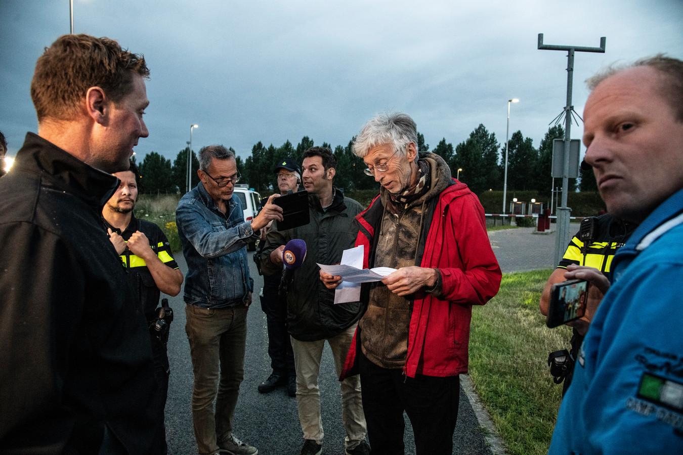 Boeren in gesprek met Johan Vollenbroek.