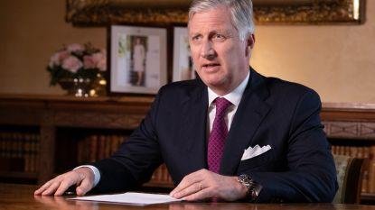 Koning Filip spreekt Belgen toe over coronavirus: bekijk hier integraal zijn boodschap